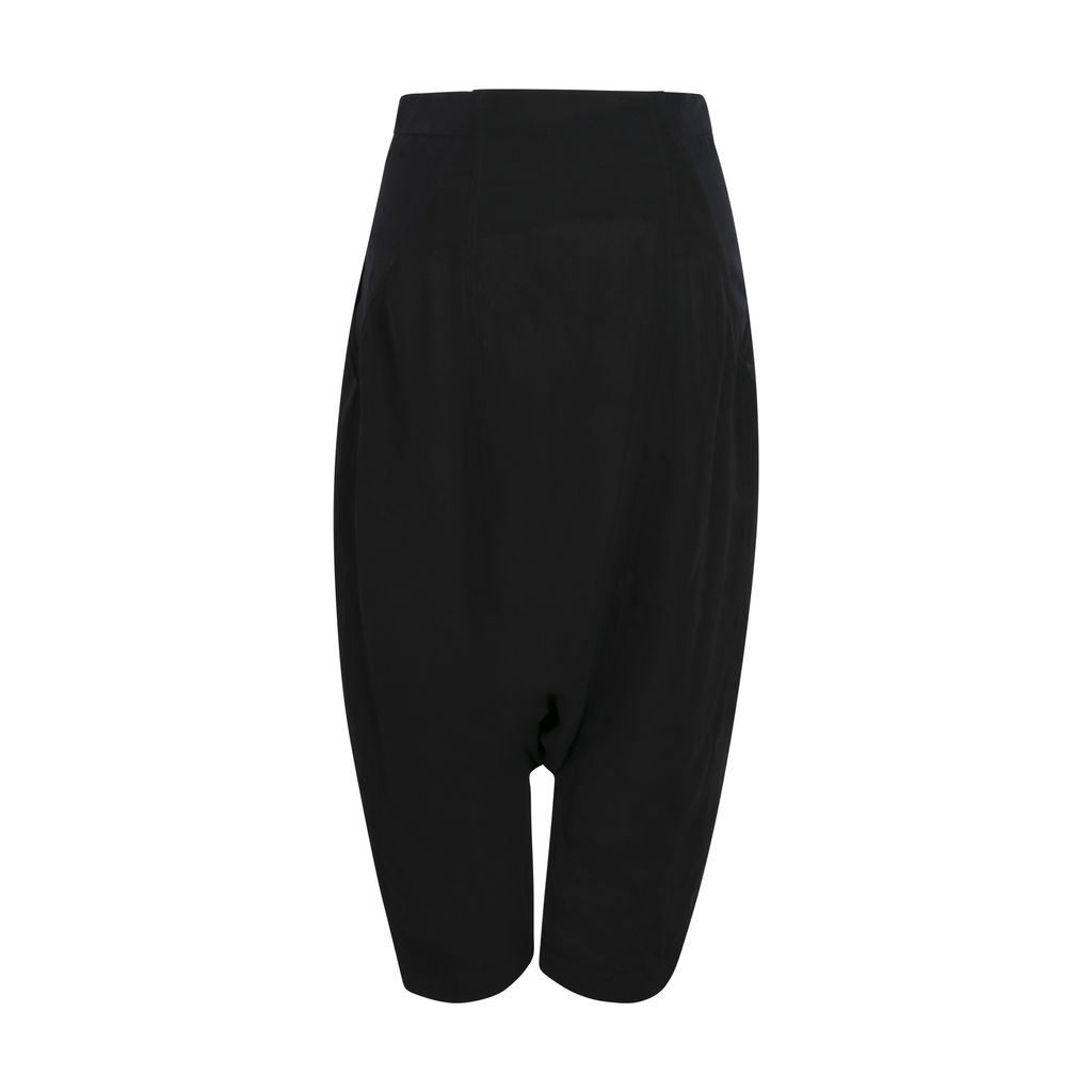 Rick Owens Cropped Sarouel Trousers