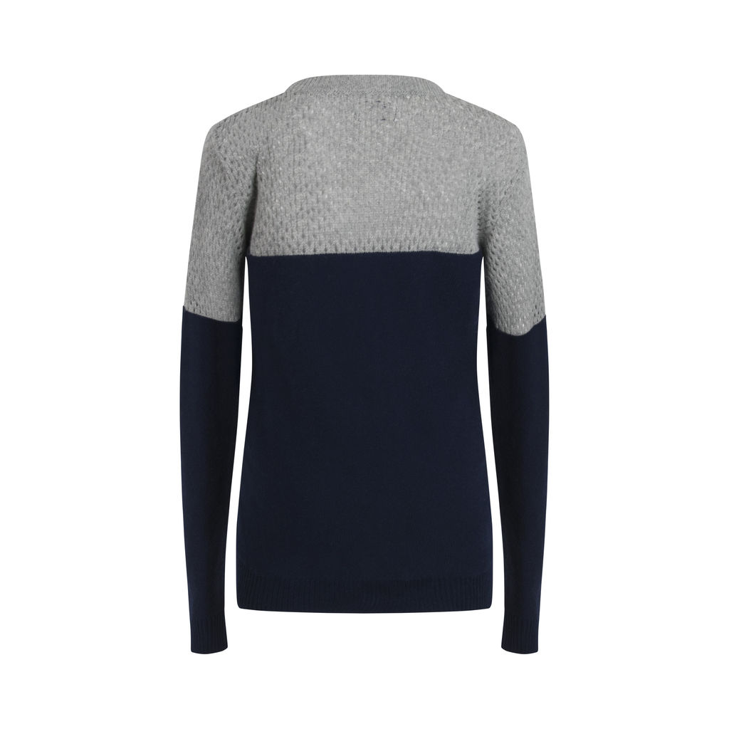 Nightcap X Carisa Rene Color-Block Cashmere Wool Sweater