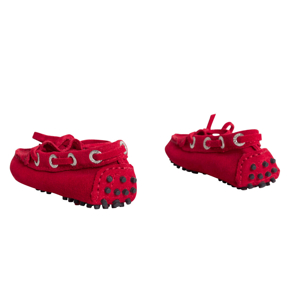 Superga Red Driving Shoes