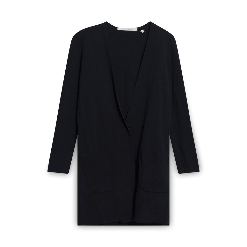 Christophe Lemaire x Uniqlo Wrap Sweater - Black