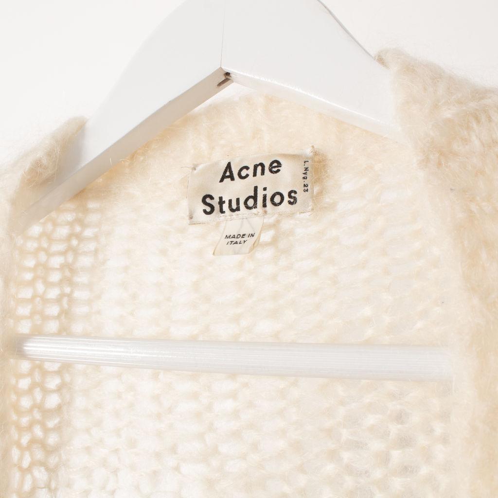 Acne Studios Ono Mohair-Blend Cardigan