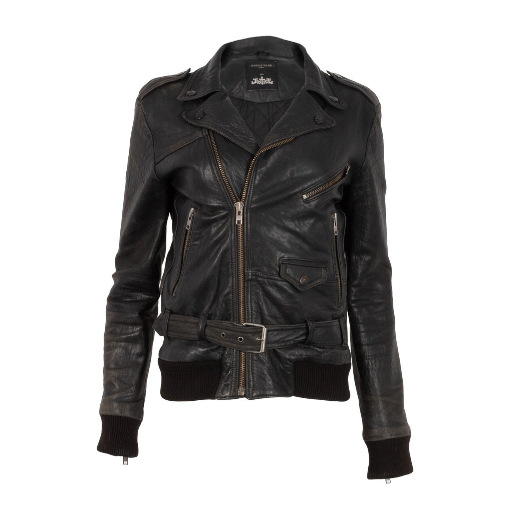 "Surface to Air x Justice ""Gaspard"" Leather Jacket"