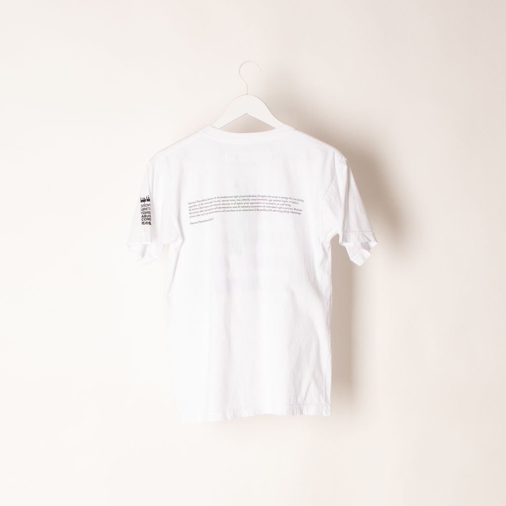 Virgil Abloh x Jenny Holzer Abuse of Flower Comes As No Surprise Tee