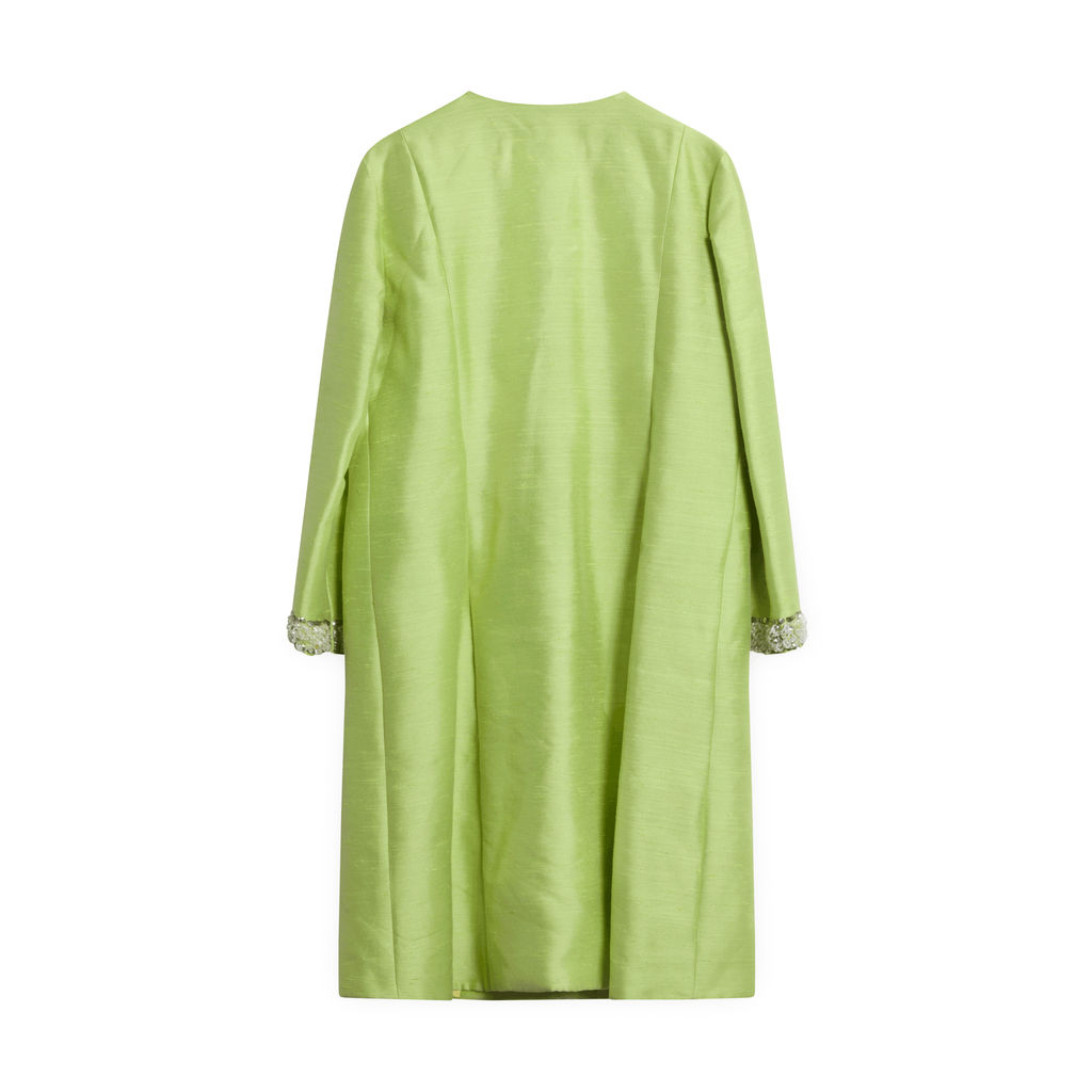 Vintage Lime Green Coat