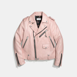 Coach 1941 Icon Leather Moto Jacket curated by Sami Miro
