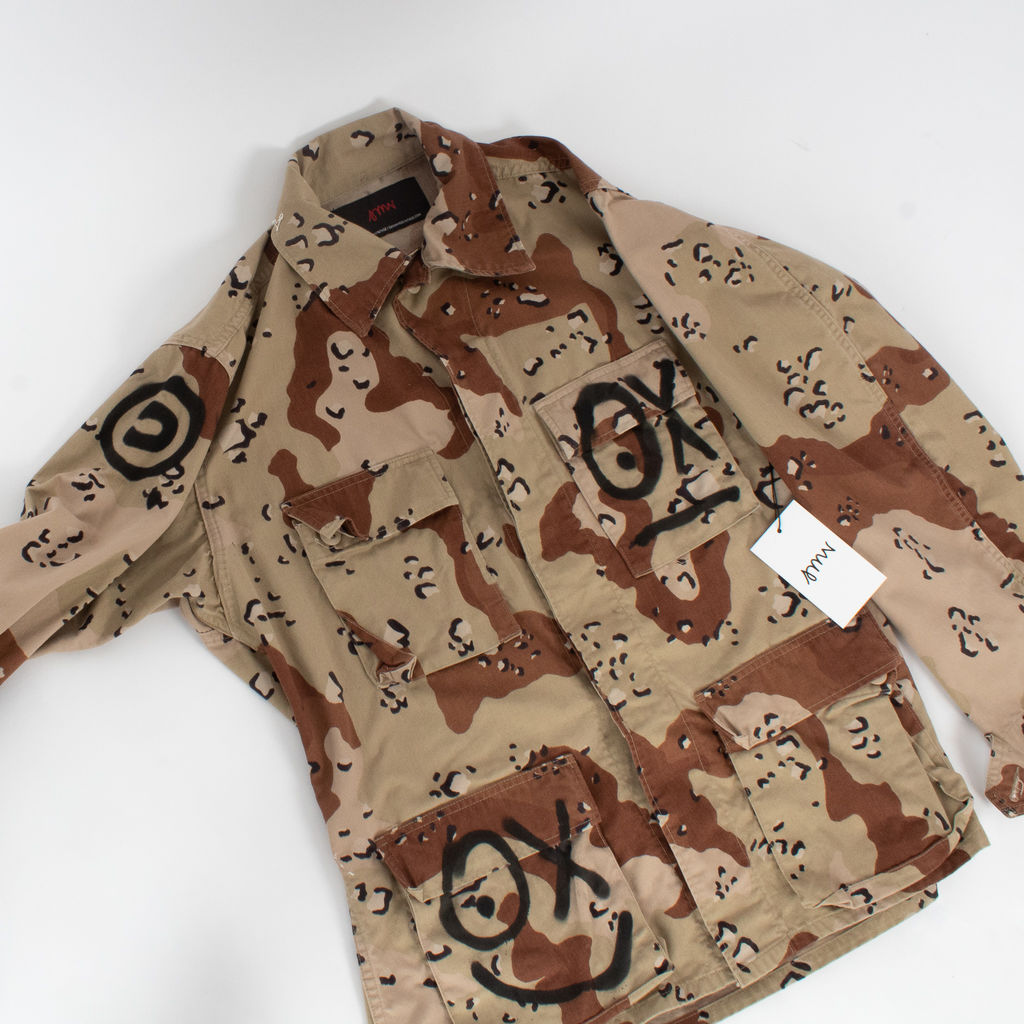 Sami Miro Vintage x André Saraiva Exclusive Desert Camo Field Jacket - Custom One of One