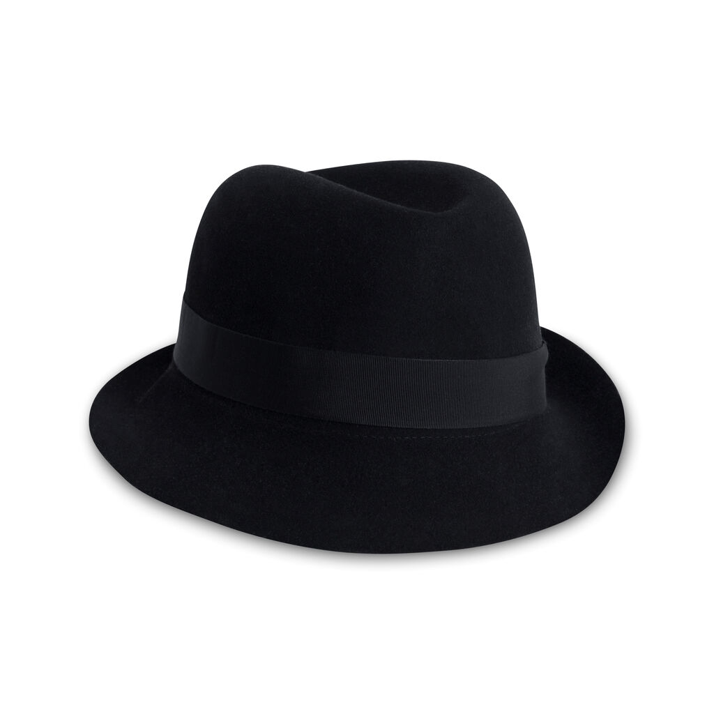 Helen Kaminski Black Felt Hat
