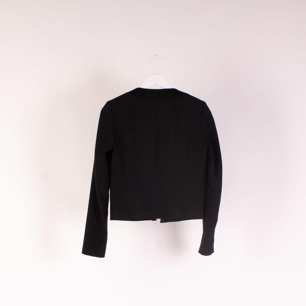 Theory Cropped Tuxedo Style Blazer