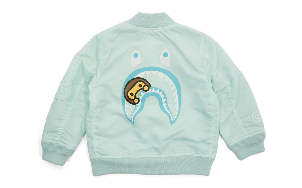 BAPE Milo Shark MA-1 Jacket