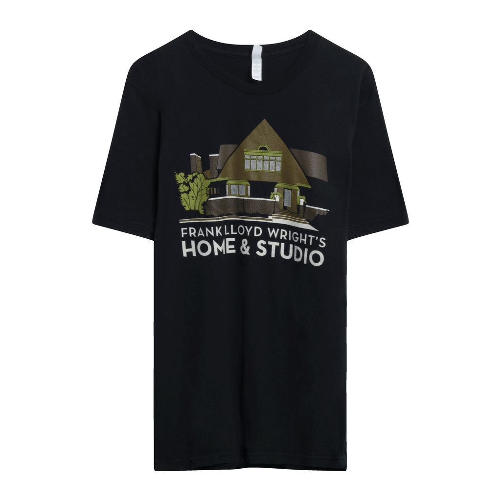 Frank Lloyd Wright Home & Store Tee