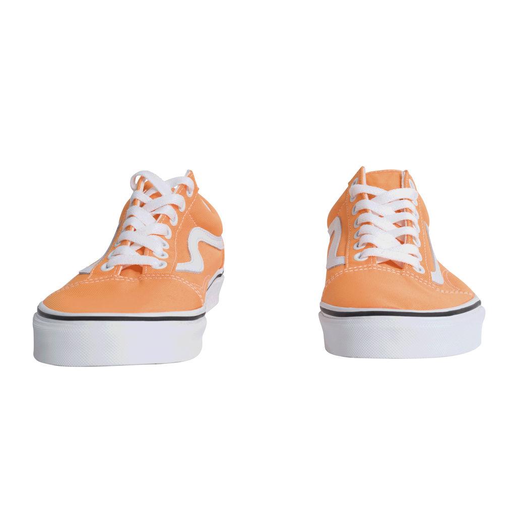 Vans Old Skool Neon Blazing Orange/ True White