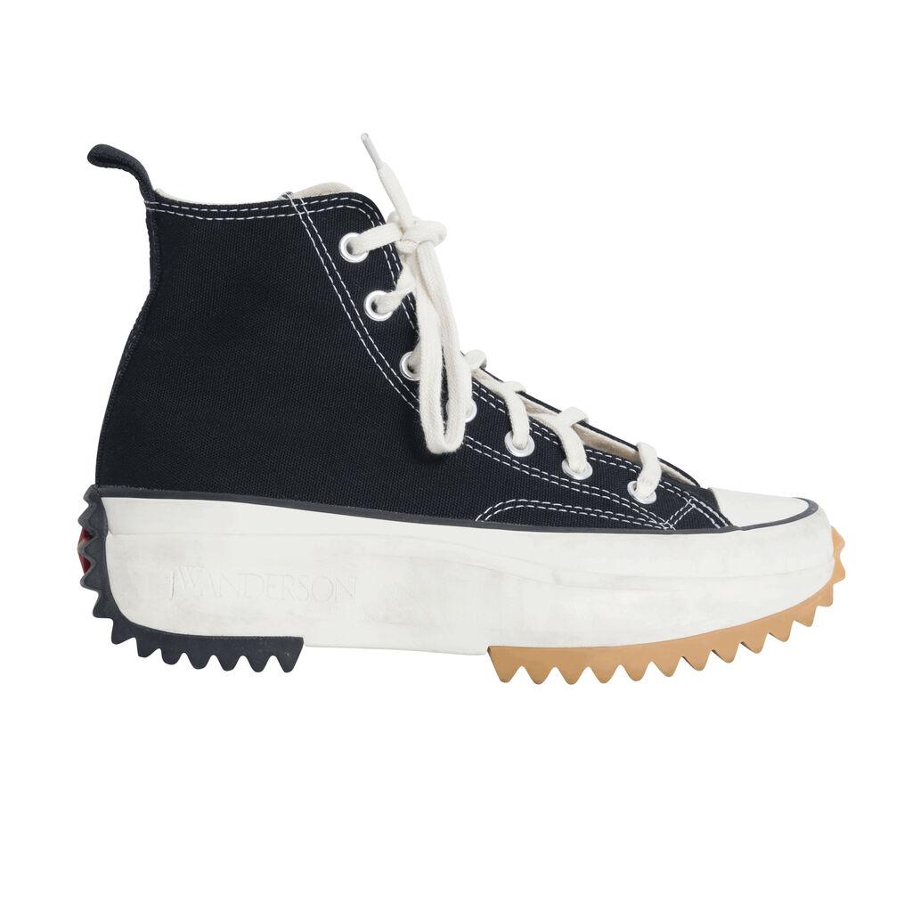 JW Anderson x Converse Run Star Hike Shoes- Black