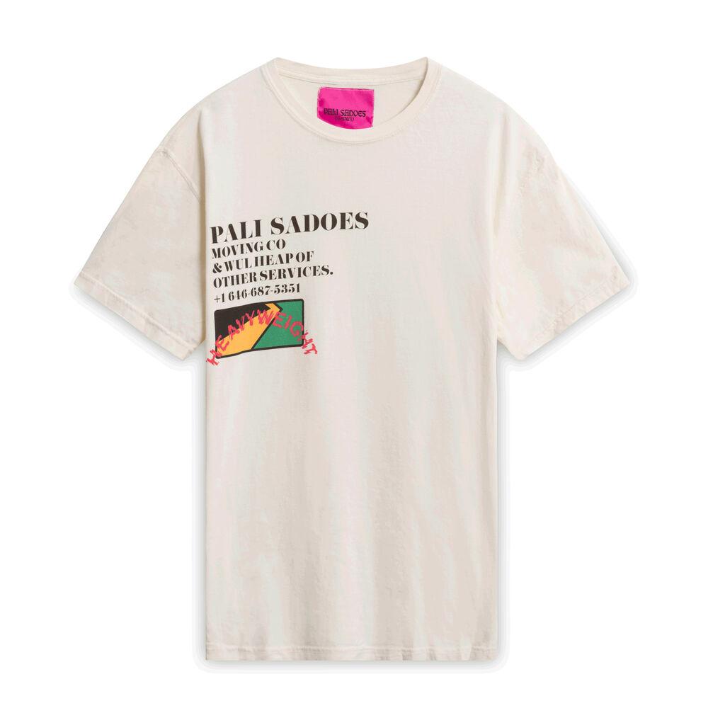 Pali Sadoes Moving Co T-Shirt - Off-White