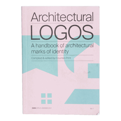 """Architectural Logos: a handbook of architectural marks of identity"" compiled and edited by Counter-Print"