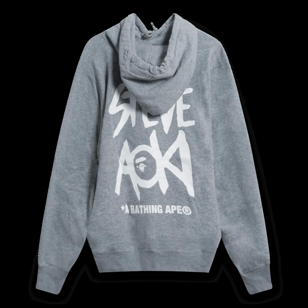 BAPE x Steve Aoki Camo Box Hoodie