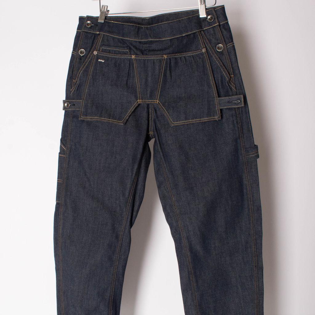 G-Star Raw Wide-Leg Blue Jeans