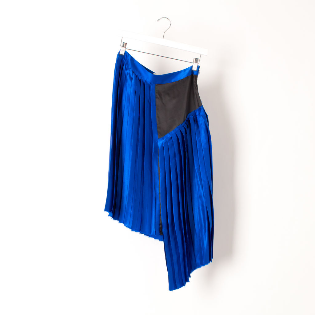 Public School NY Kaleb Suchi Silk Pleated Skirt