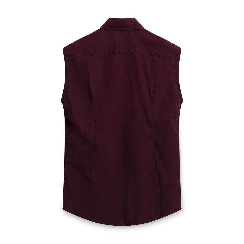 Costume National Maroon Vest