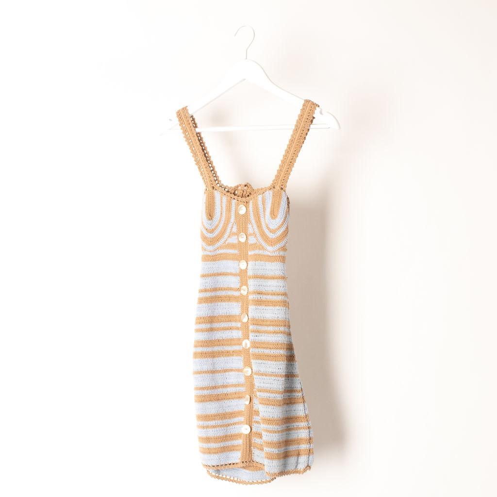 She Made Me Balconette Mini Dress