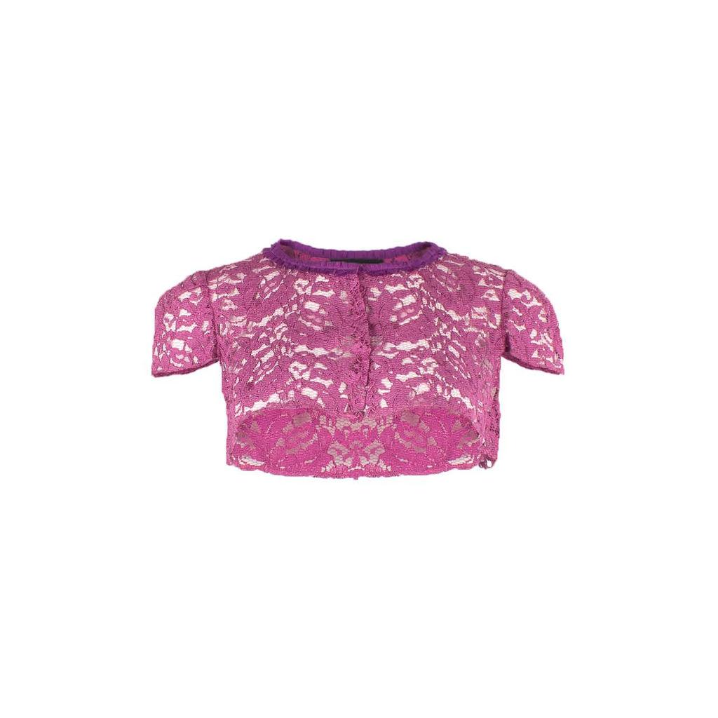 Dolce & Gabbana Lace Capelet