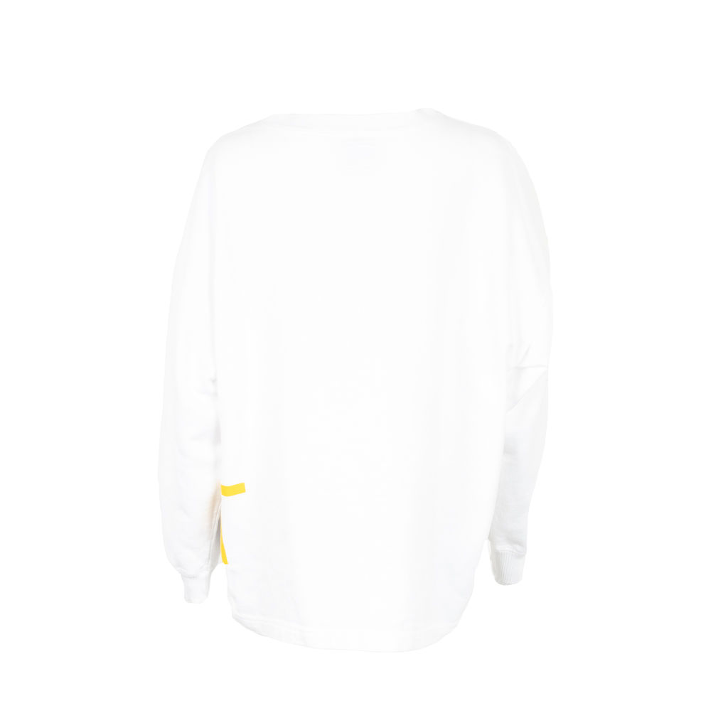 Esprit Wrap-Around Text Long Sleeve Shirt