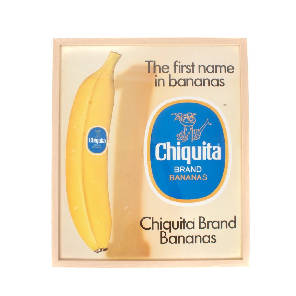 Chiquita Brand Bananas Lithograph