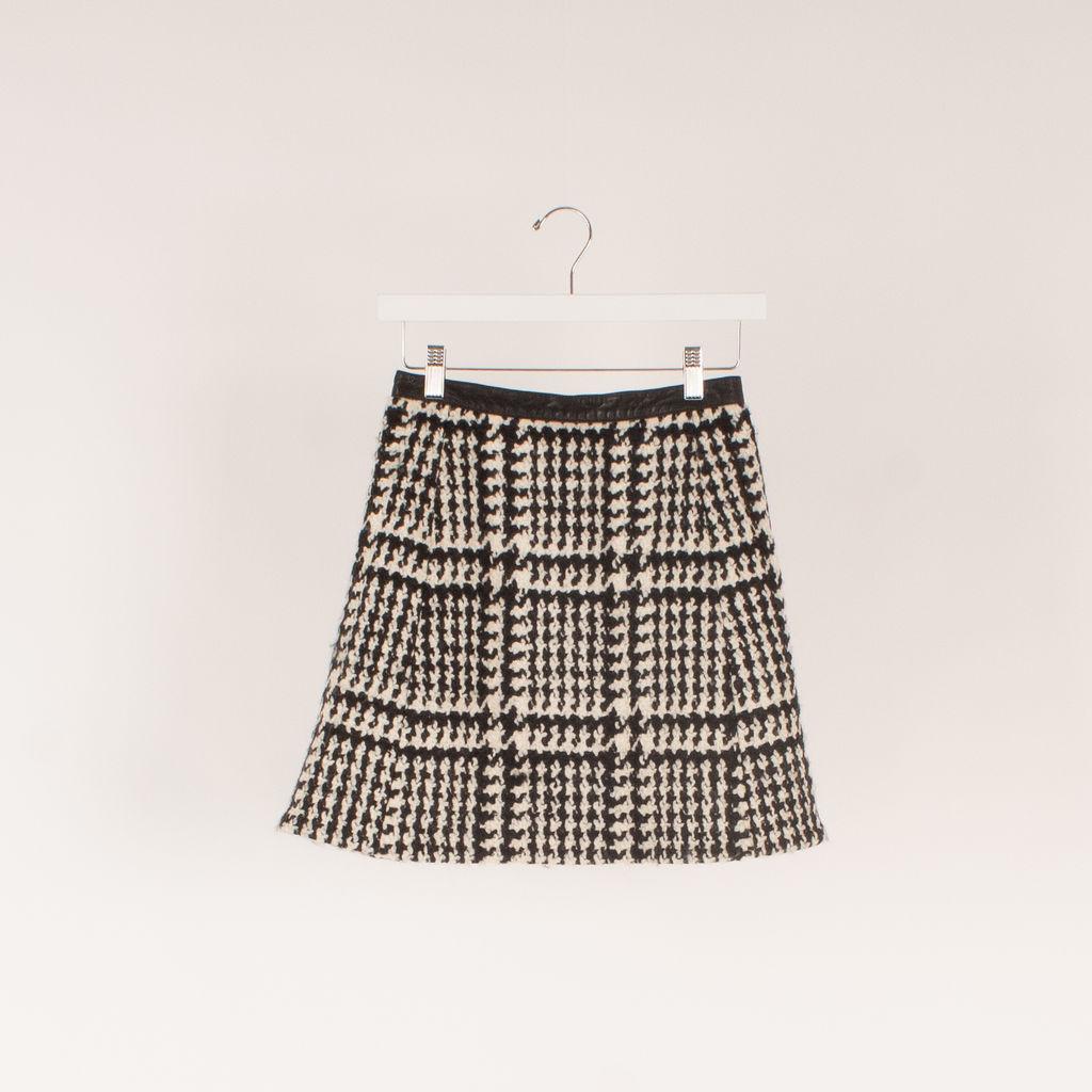 Jill Stuart Houndstooth Mini Skirt