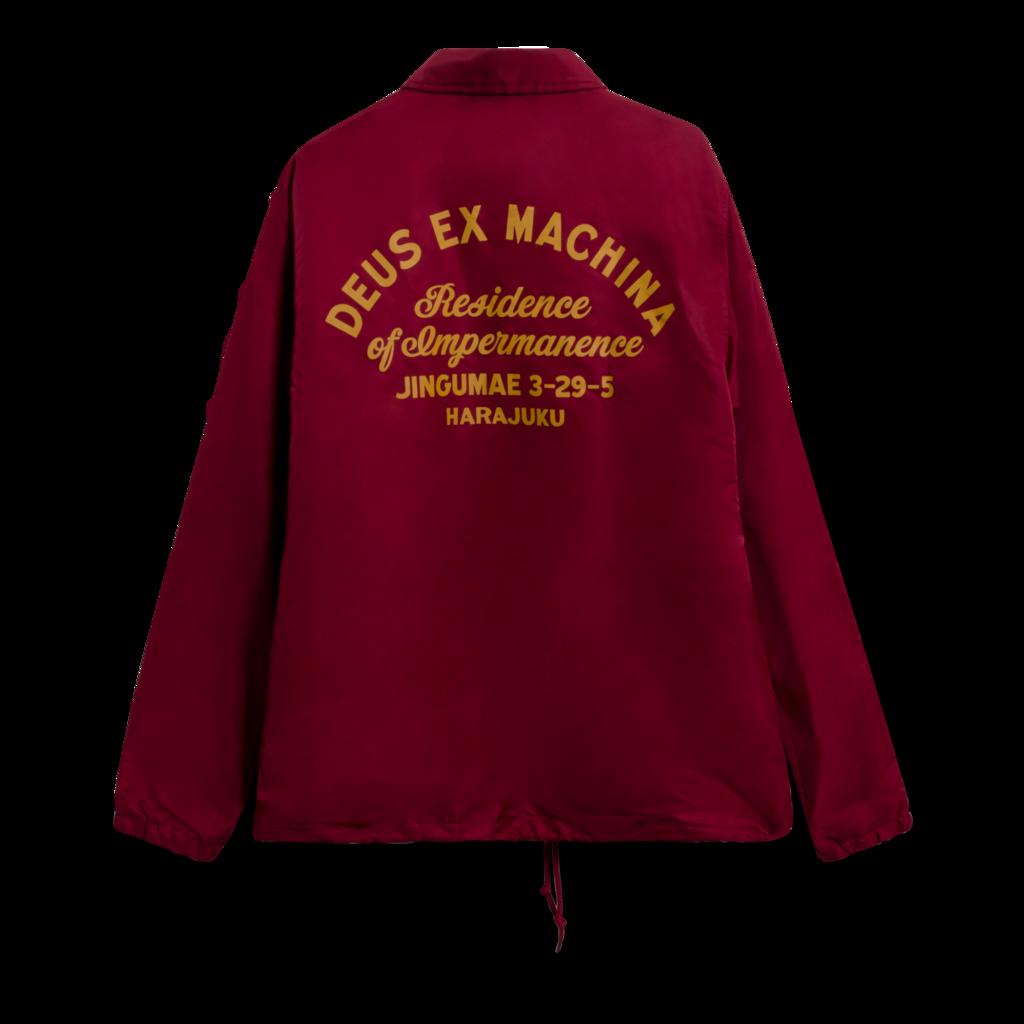 Deus Ex Machina Sunny Impermanence Coach Jacket