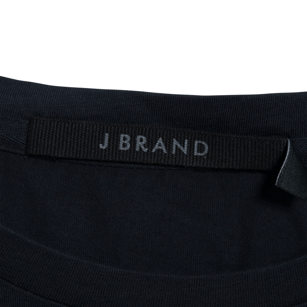 J Brand 811 Short Sleeve Tee - Black