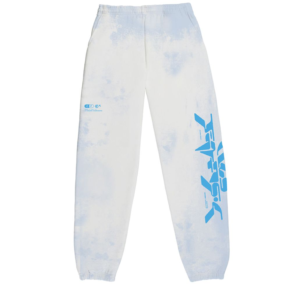 Club Fantasy Neo Logo Sweatpants in Blue