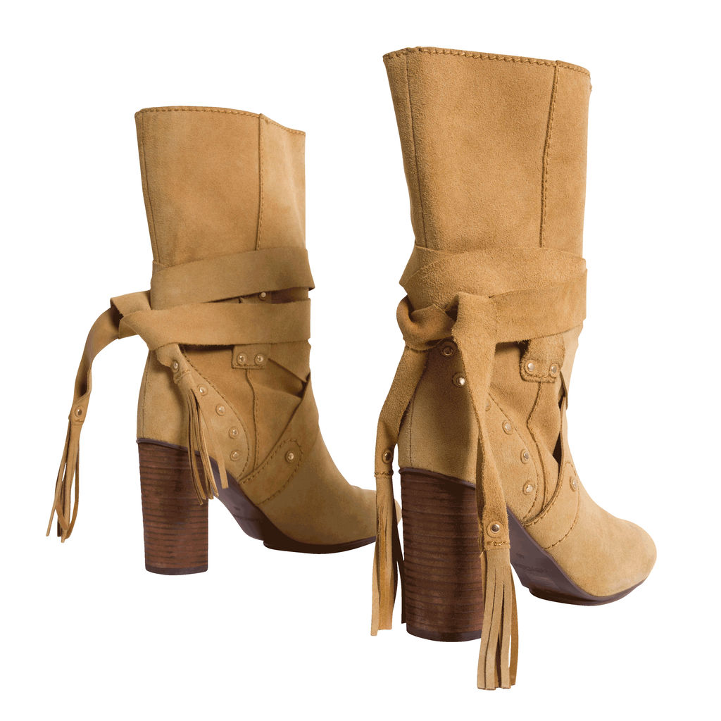 See by Chloe Tan Suede Boots