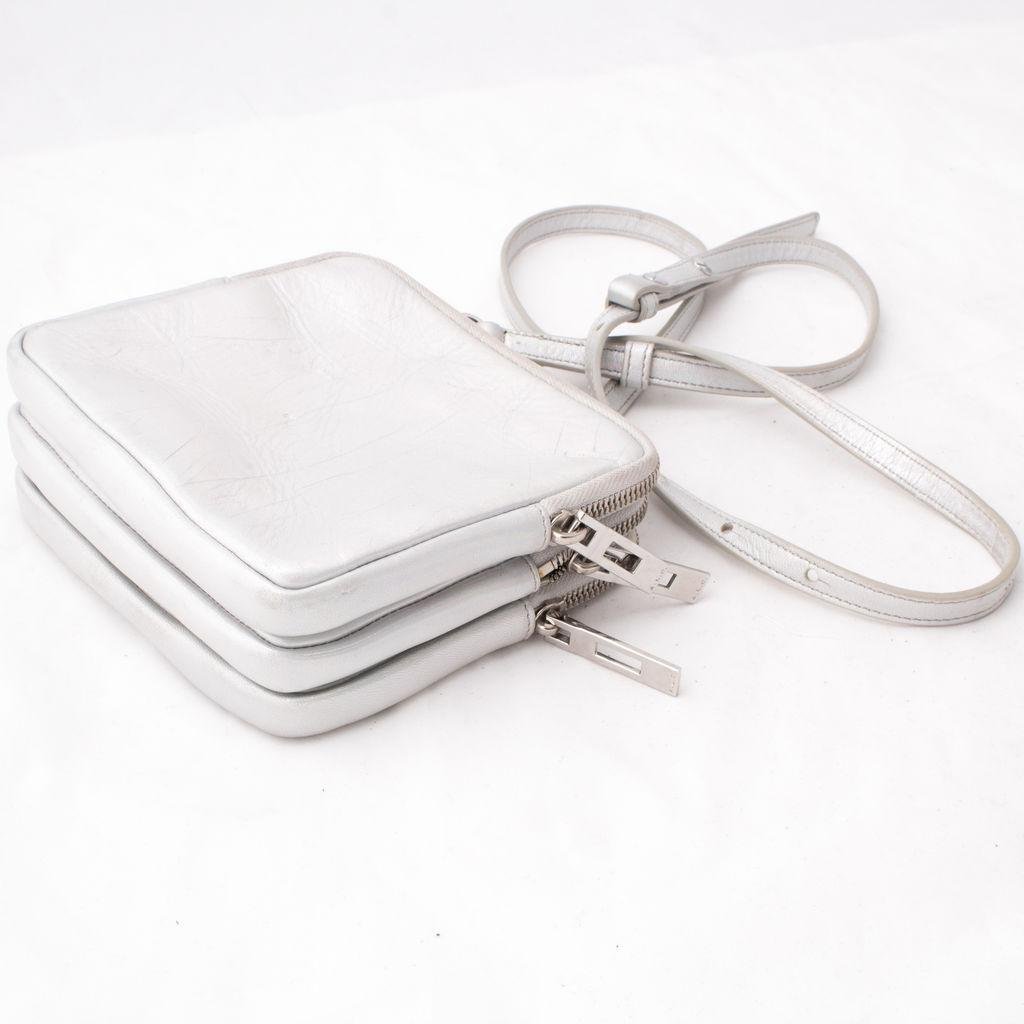 ALC Iridescent Leather Crossbody Bag