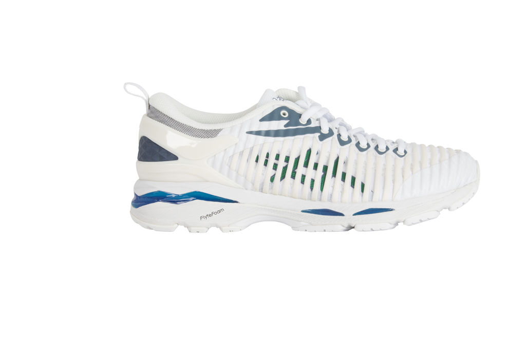 ASICS Gel-Delva 1 X Kiko Kostadinov Sneakers- Cool Mist/ Forest Green