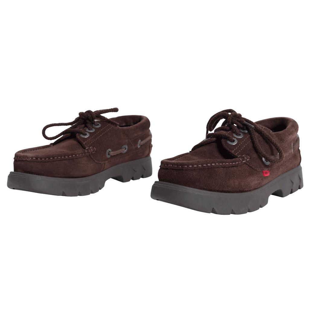Kicker's Lennon Boat Shoe - Brown