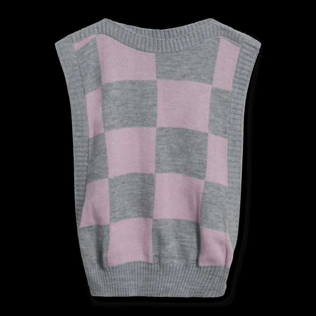 Vintage Fame Knitworks Open Vest