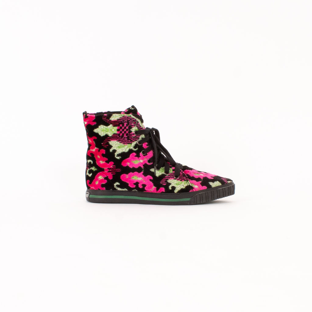 Issey Miyake Pleats Please High Top Boots
