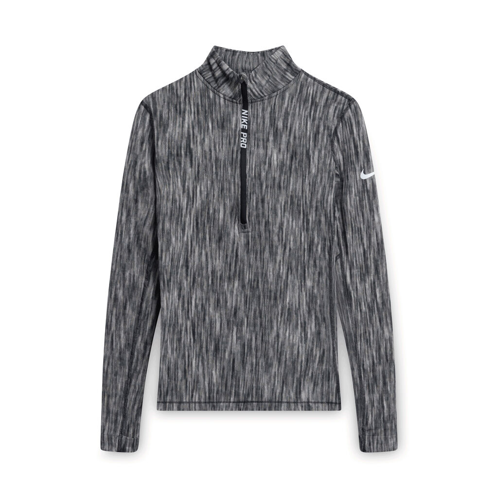 Nike Pro Hyperwarm Space Dyed Pullover - Grey