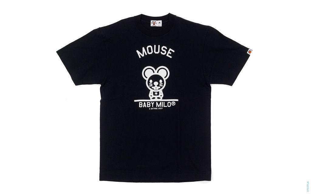 Baby Milo Mouse M Tee black