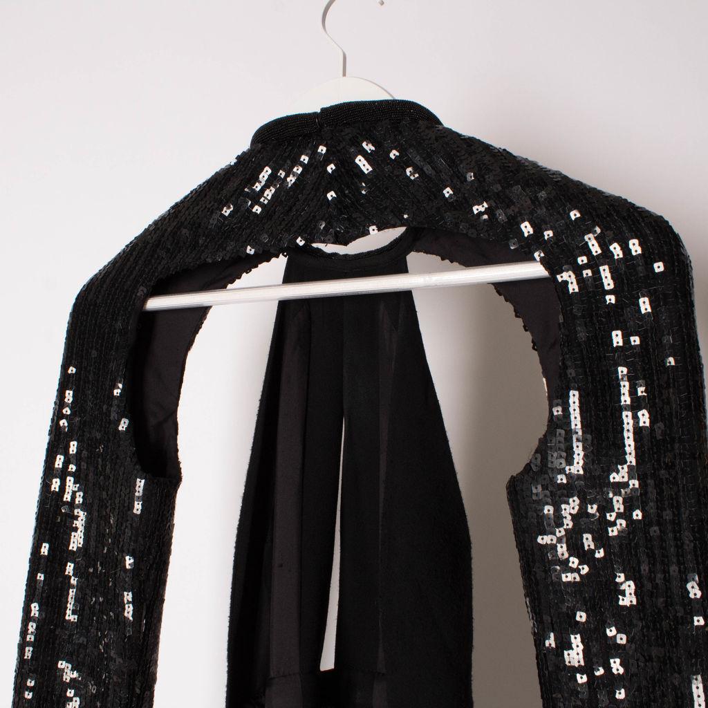 Vintage Saint Laurent Halter Cutout Gown