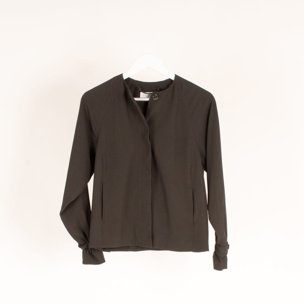 Reiss Covered Placket Coat
