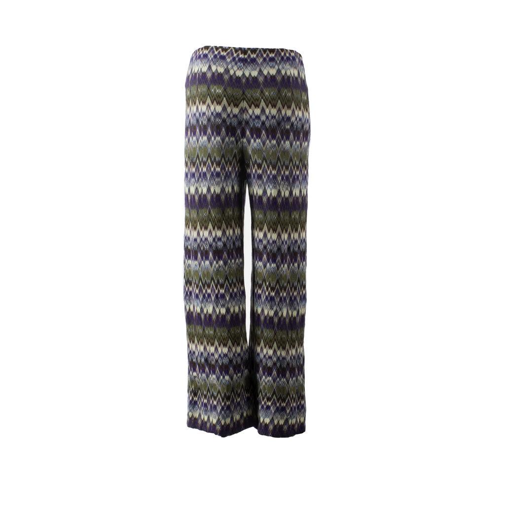 Missoni Woven Flare Leg Pants