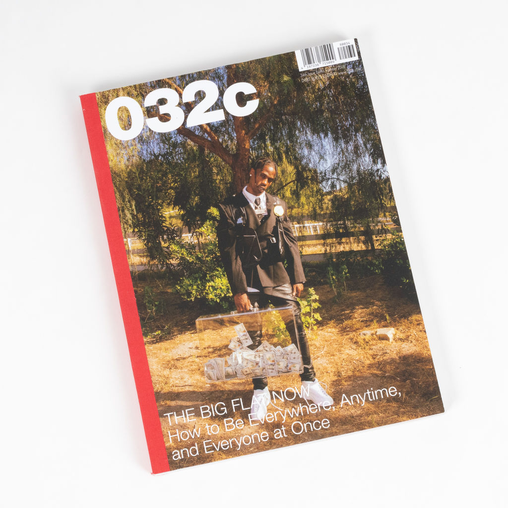 032c Issue 34 - Travis Scott