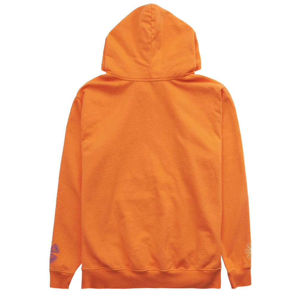 Club Fantasy Textbook Trip Hoodie in Orange