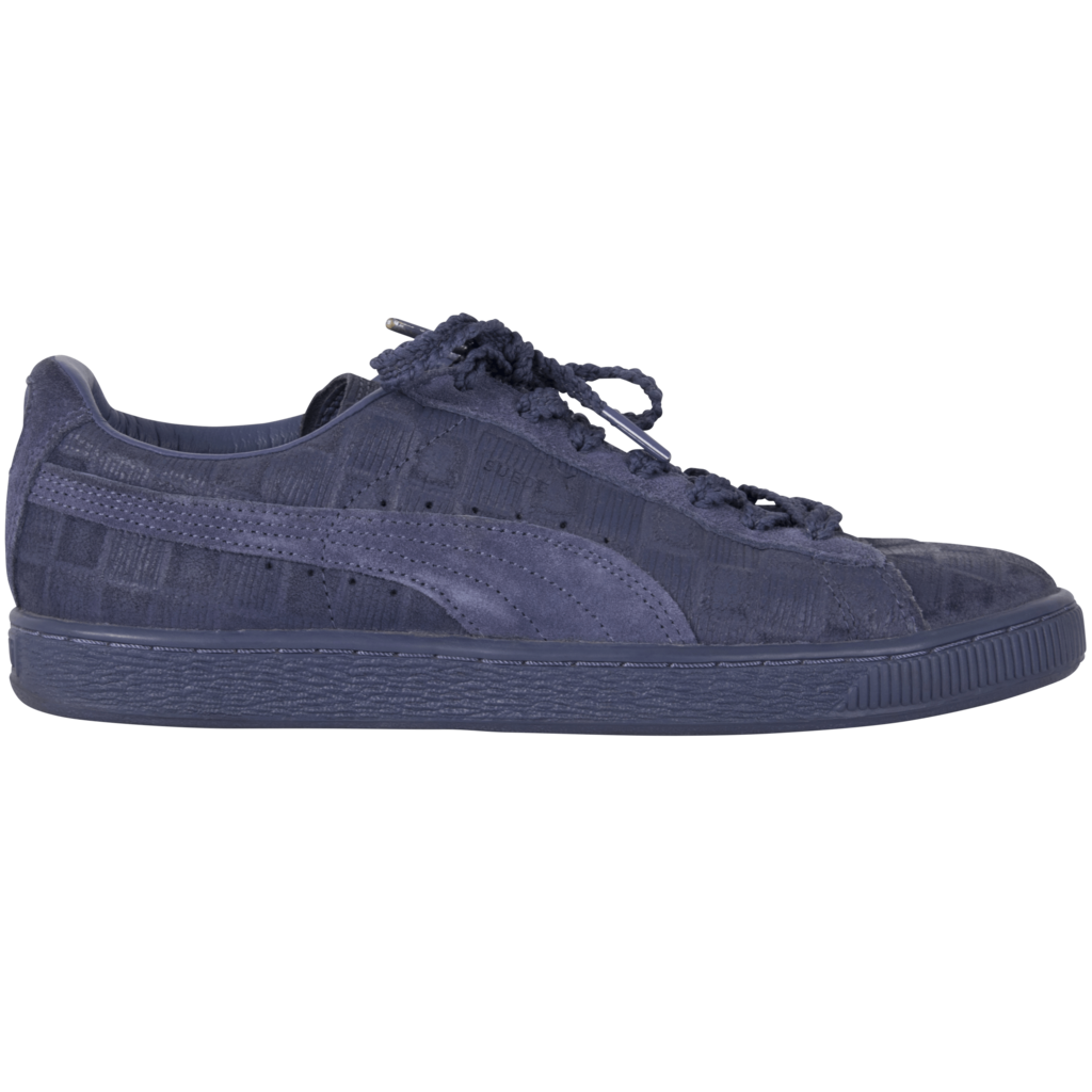 Puma Blue Suede Sneakers