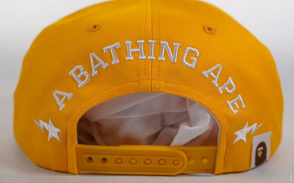 BAPE LA Exclusive LA ABC Camo College Logo Snapback