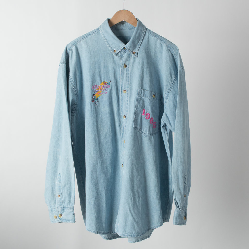 STAYCOOLNYC Button Down Shirt  curated by Love Watts