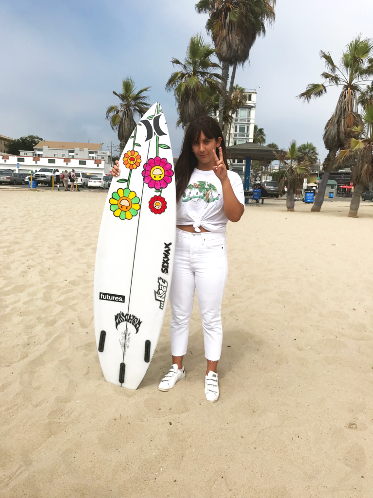 Private, 1-hour Surf Lesson with Steffi Kerson *Basic Space Exclusive*