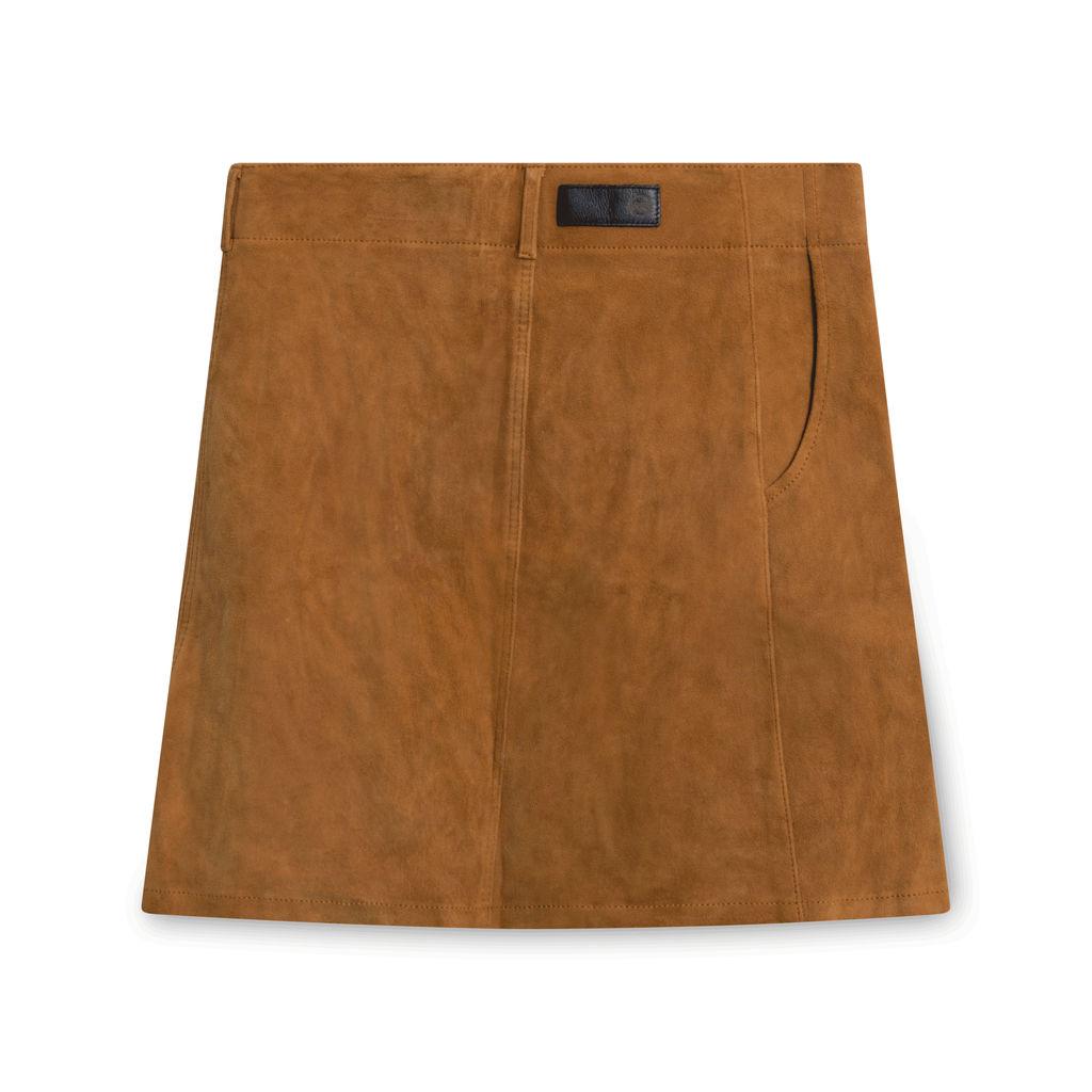 Adriano Goldschmied Camel Skirt