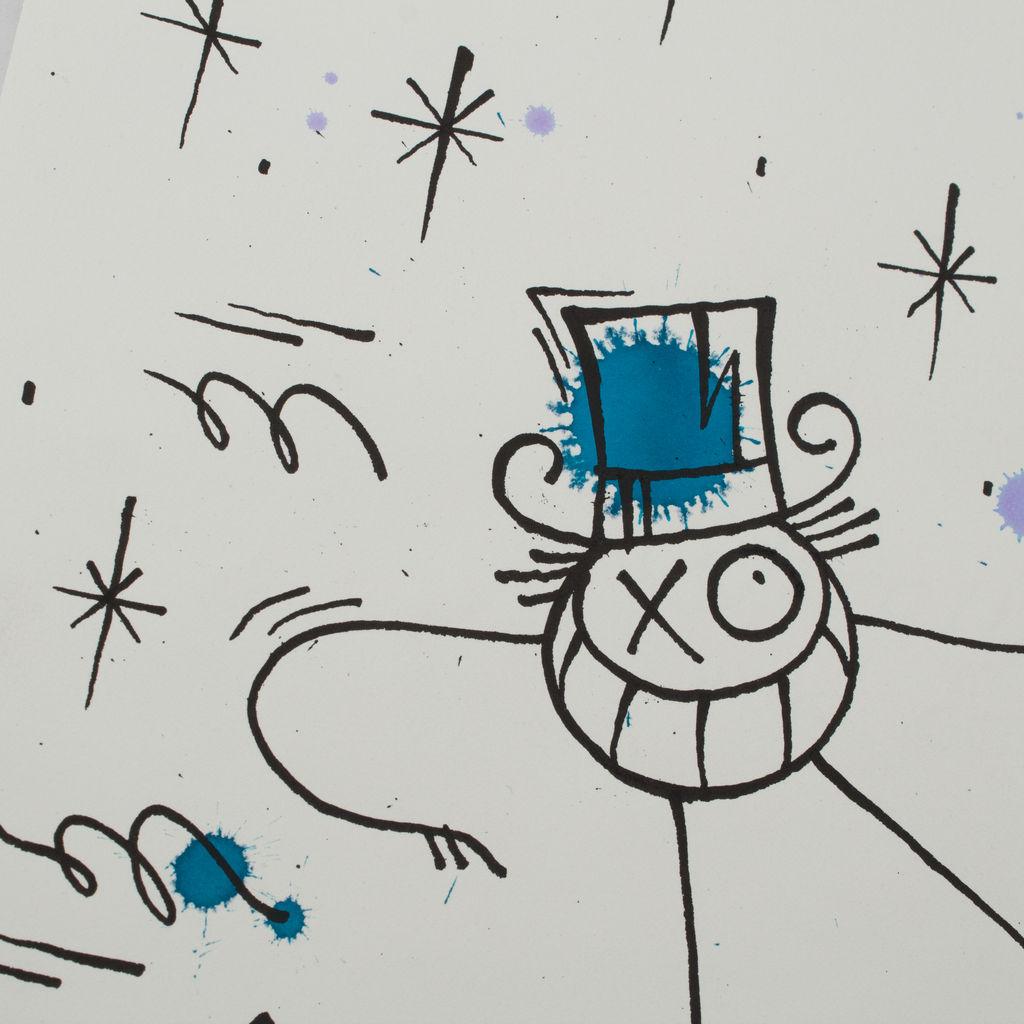 Original Mr. Andre Drawing