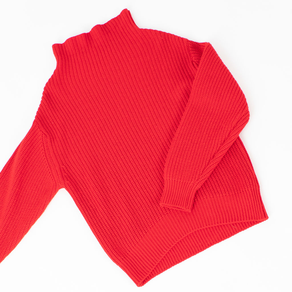 Wilfred Roll Neck Wool Sweater
